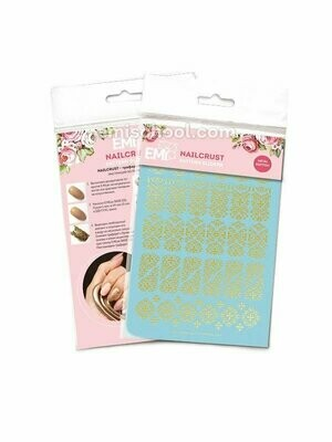 NAILCRUST Pattern Slider Gold #16