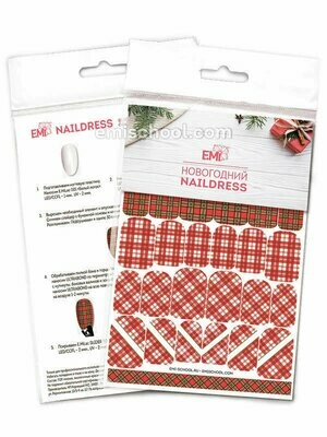 Naildress Slider Design #26 Scottish Tartan