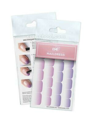 Naildress Slider Design #41 Ombre
