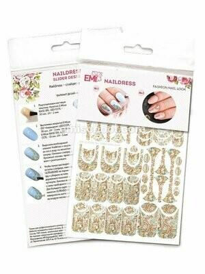 Naildress Slider Design Persian Scarf