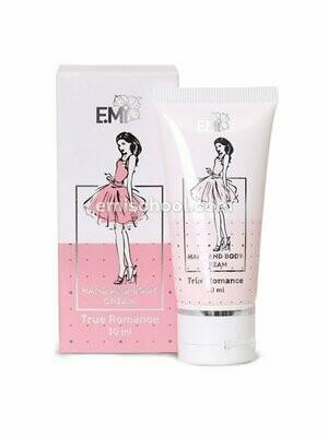 Hand and Body Cream True Romance, 30 ml.
