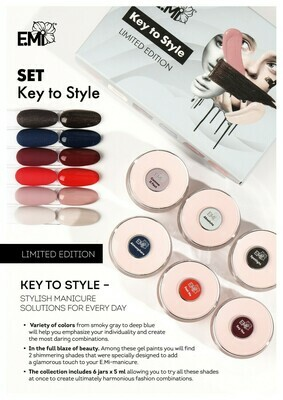 Gel Paints Set Key to Style