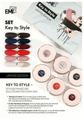 Gel Paints Zestaw Key to Style