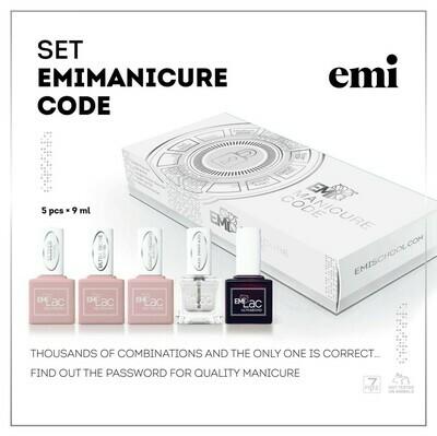Zestaw E.Mi manicure Code