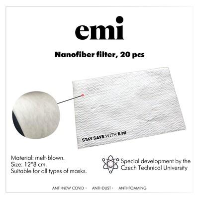 Filtry z nanowłókien