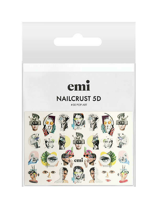 NAILCRUST 5D #30 Pop-Art