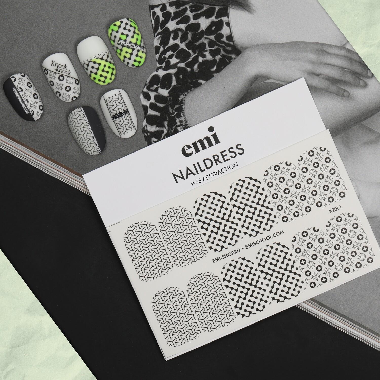 Naklejki wodne Naildress Slider Design #63 Abstraction