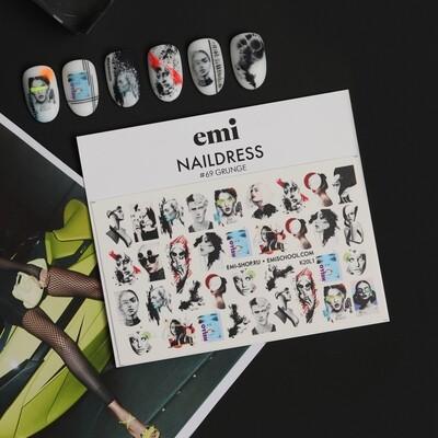 Naklejki wodne Naildress Slider Design #69 Grunge