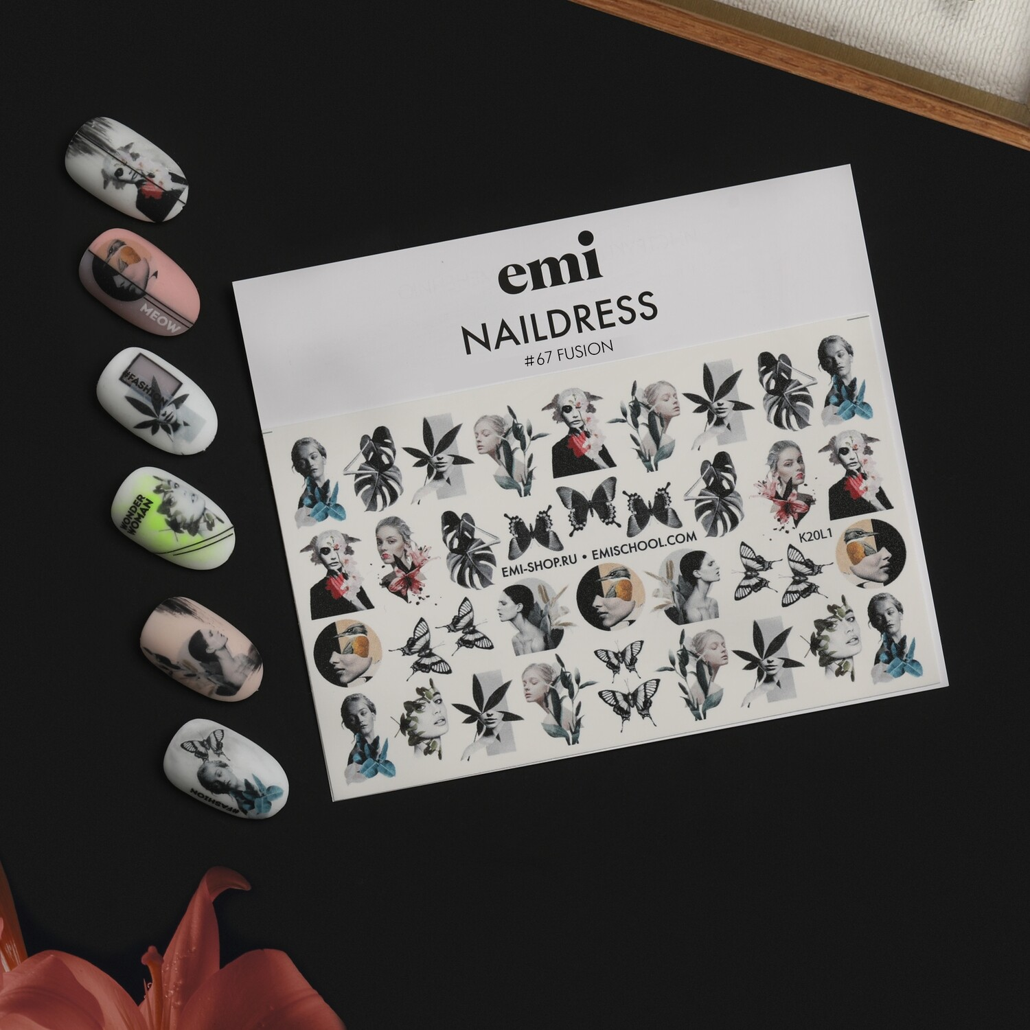 Naildress Slider Design #67 Fusion