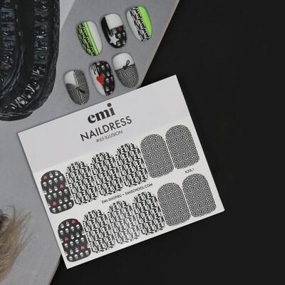Naklejki wodne Naildress Slide Design #65 Illusion