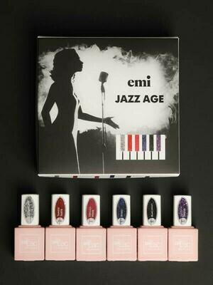 Zestaw E.MiLac Jazz Age, 9 ml.