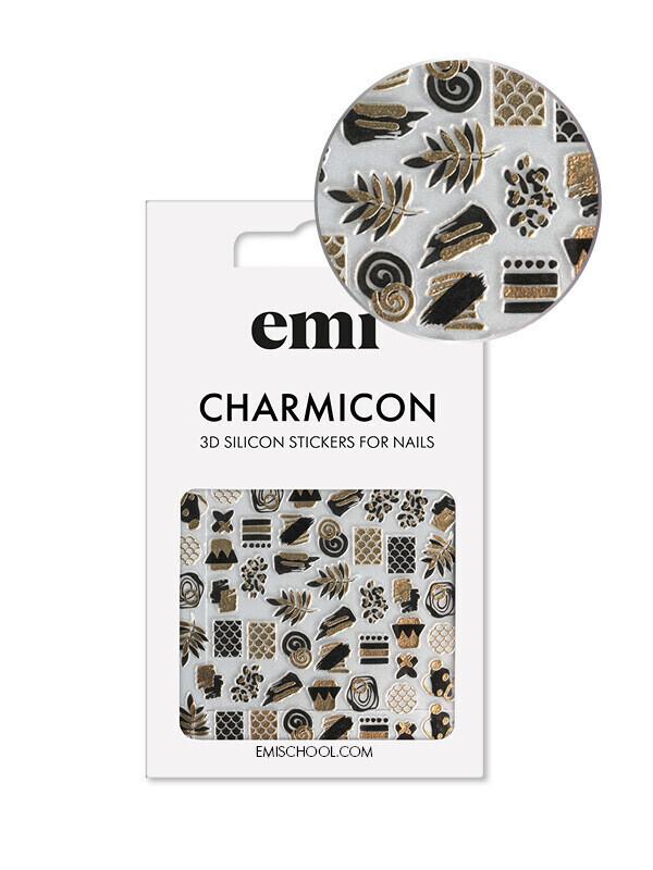 Naklejki silikonowe Charmicon 3D Silicone Stickers #187 Accents