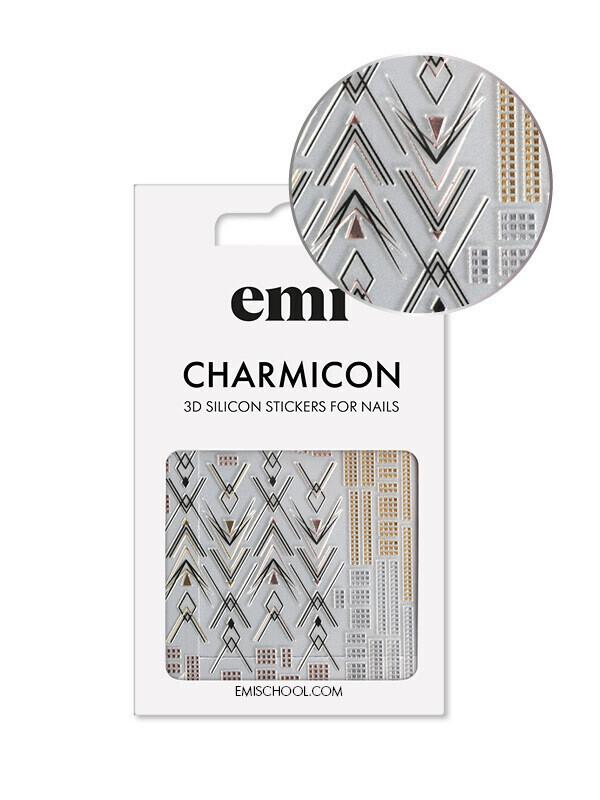 Naklejki silikonowe Charmicon 3D Silicone Stickers #194 Graceful Geometry