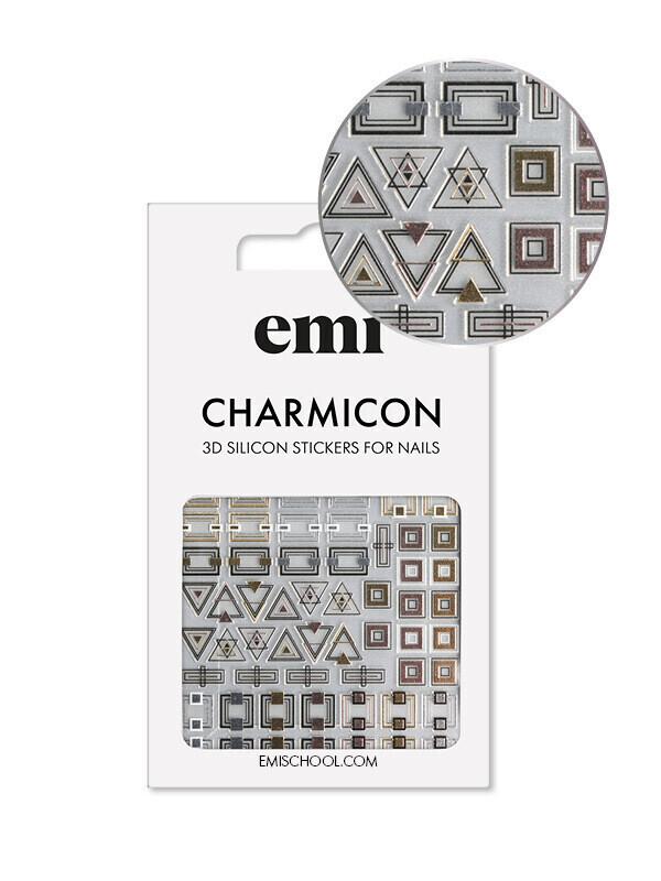 Naklejki silikonowe Charmicon 3D Silicone Stickers #192 Classic