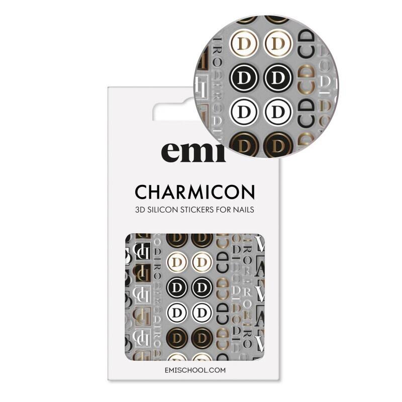 Naklejki silikonowe Charmicon 3D Silicone Stickers 186 Logomania
