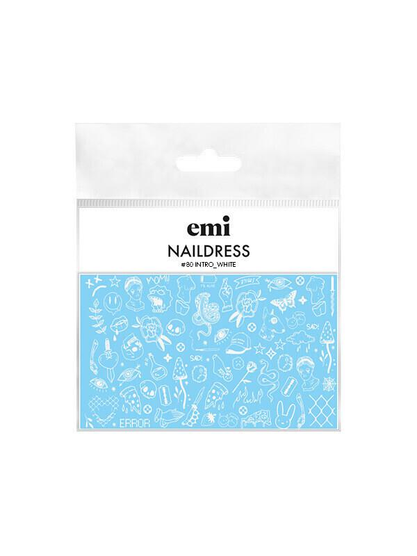 Naklejki wodne Naildress Slider Design #80 Intro_white