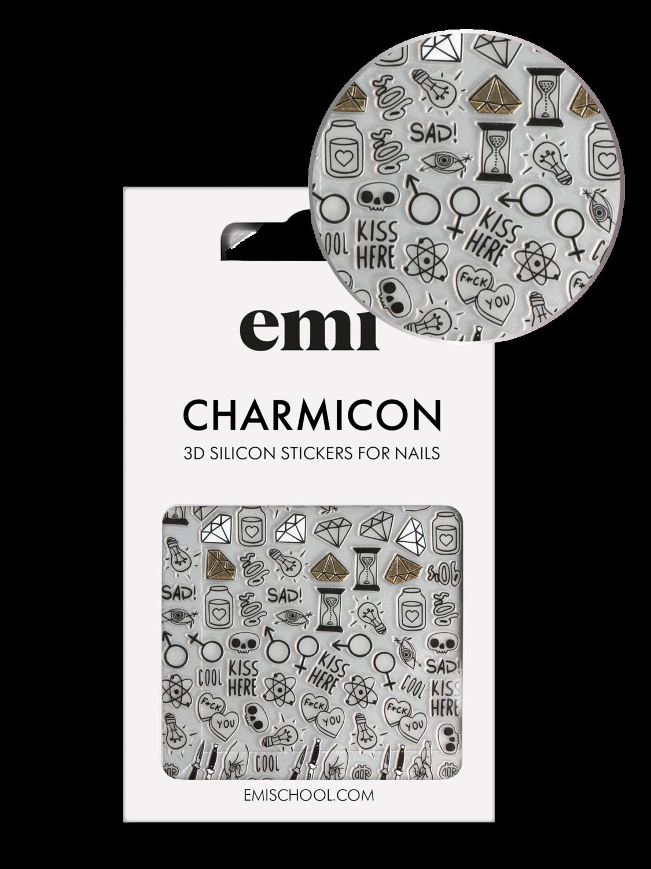 Naklejki silikonowe Charmicon 3D Silicone Stickers #189 Оwn Atmosphere