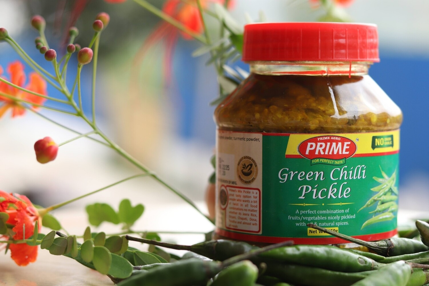 Green Chilly Pickle- 350gms