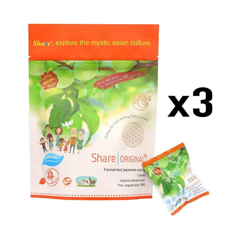 Share | Original (7 piezas)  - Pack de 3 unidades - ¡ENVÍO GRATIS!