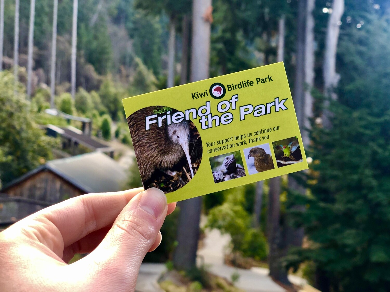 Friend of the Park Pass
