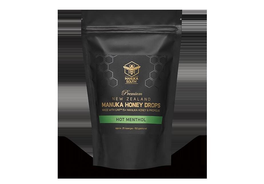 Manuka Honey Drops – Hot Menthol