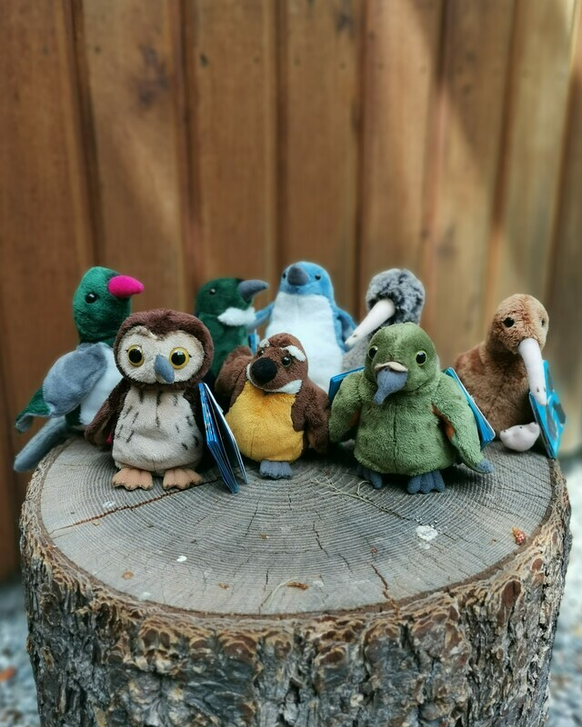 Native Birds Finger Puppets