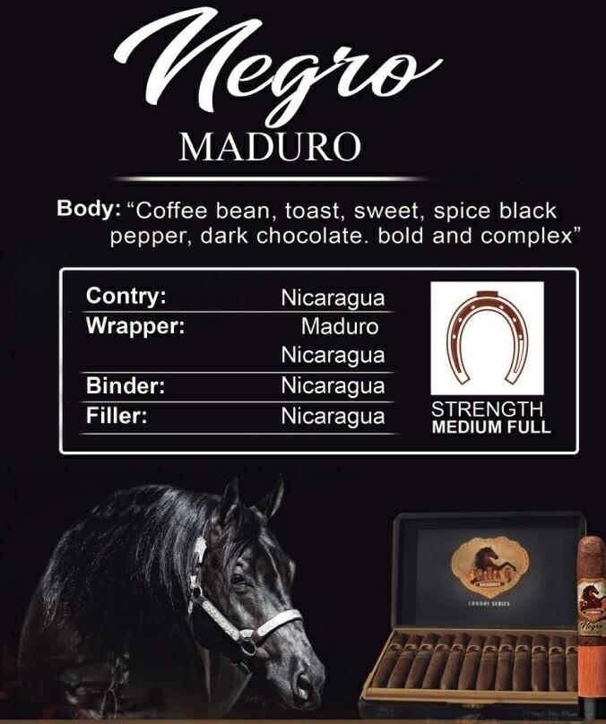 Stallone Negro Maduro  Toro 6/56 5 Pack