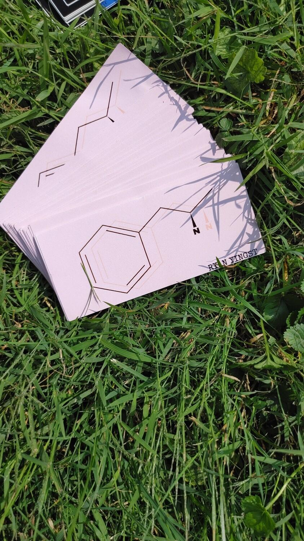 "4.25x2"" - Benzedrine - Sticker"