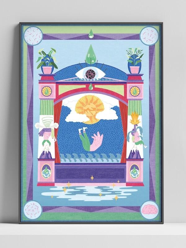 A2 Print by Melanie Gandyra