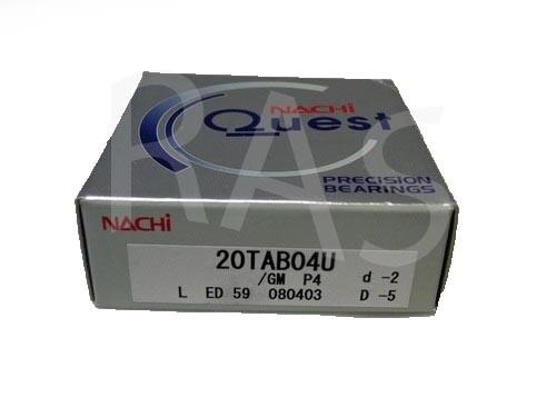 Nachi Bearing 20TAB04U/GMP4 Universally Ground (20TAC47)