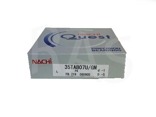 Nachi Bearing 35TAB07U/GMP4 Universally Ground (35TAC72)