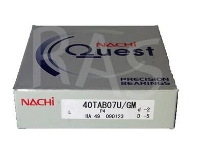 Nachi Bearing 40TAB07U/GMP4 Universally Ground (40TAC72)