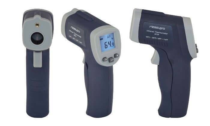 Measupro Non-Contact Infrared Thermometer with Laser Target