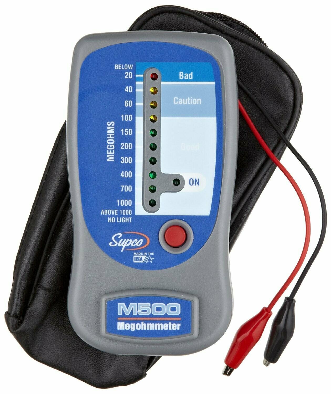 Supco M500 LED Megohmmeter