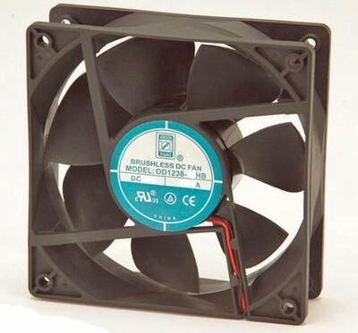 Orion Fan Part # : OA1238-24HB Voltage: 24 VDC Size : 120mm x 120mm x 38mm