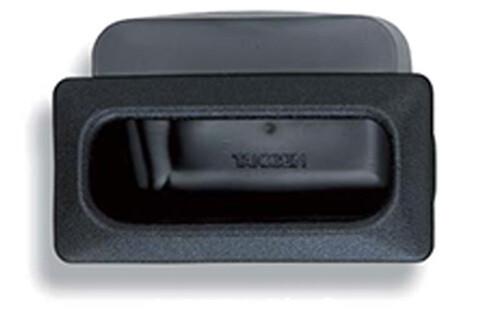 Takigen Black Vinyl Embedded Pull A-166-2-BLACK