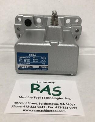 Yamatake LDVS-5414S Azbil Limit Switch With 4 Plunger