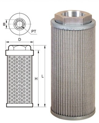 Habor O-OF-04IR Oil Suction Filter