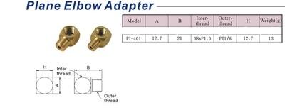 Plane Elbow Adapter - PI-401