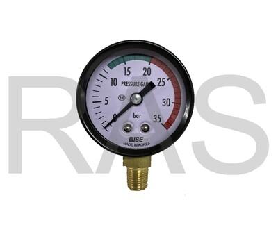 Hals Lube HMGP-303-Series Pressure Gauge