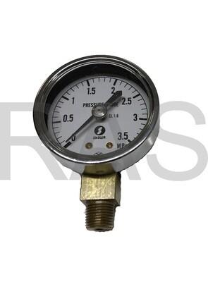 Showa Lubricator LCB4-Series Pressure Gauge - PGLS35