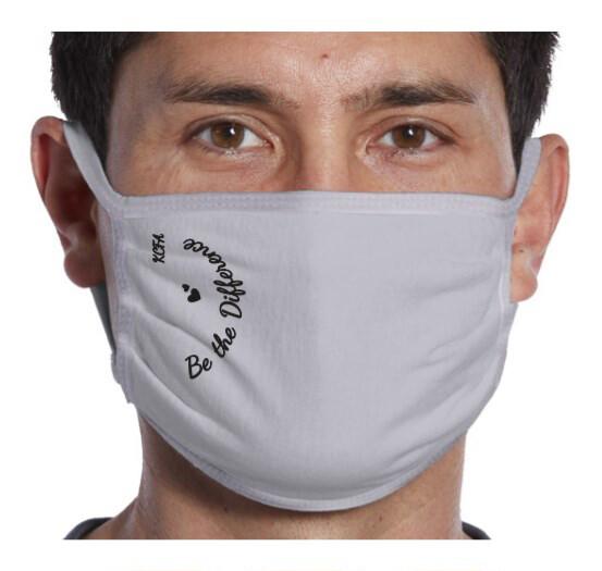 Cloth Face Mask, Adult - Imprint: