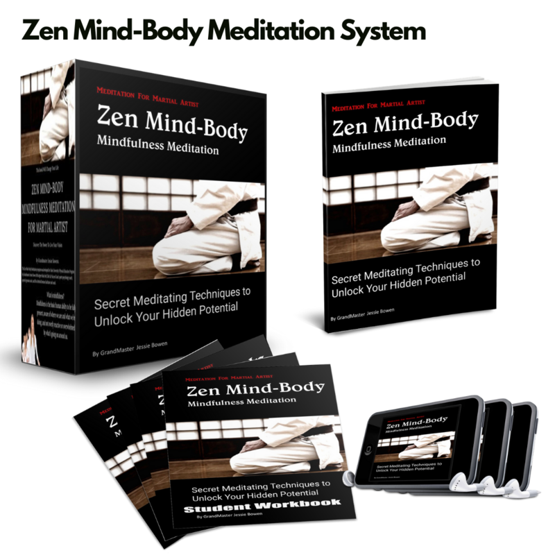 Zen Mind-Body Mindfulness Meditation Complete System Download By Jessie Bowen