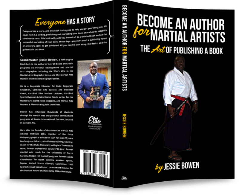 Becoming An Author for Martial Artists