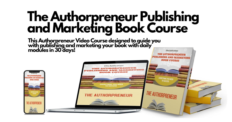 Authorpreneur biography style book