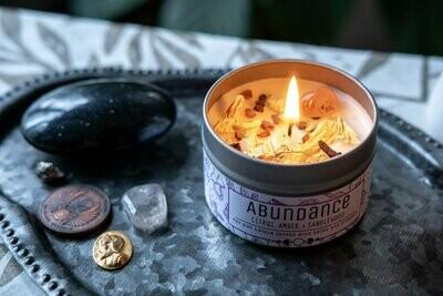 Abundance Tin Candle
