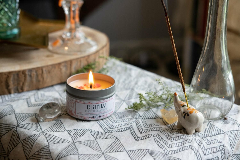 Clarity Tin Candle