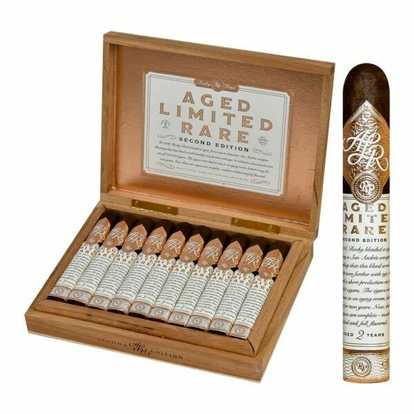 Aged limited rare robusto