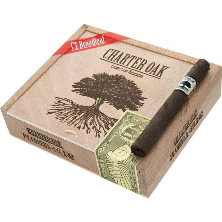 Charter oak maduro petite corona