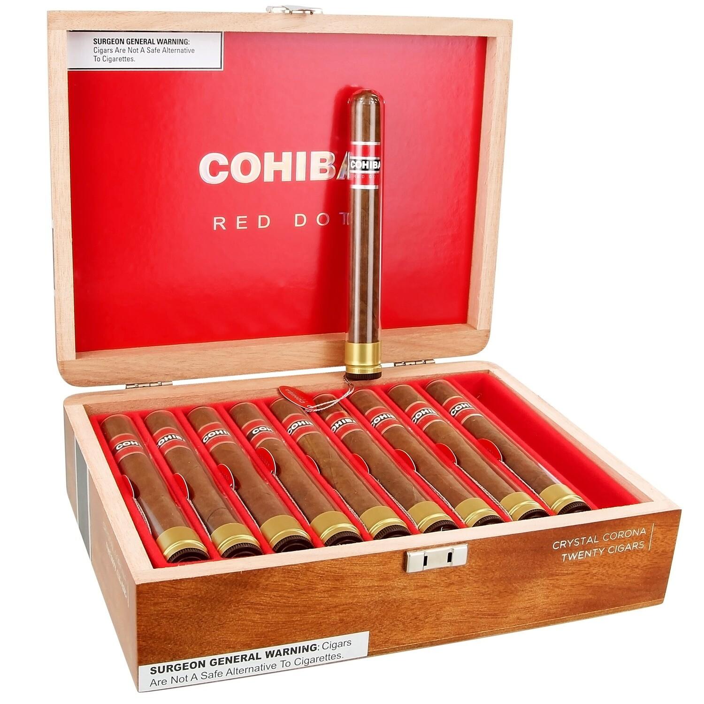 COHIBA RED DOT CRYSTAL CORONA